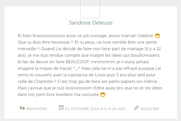 commentaire gagnant 3