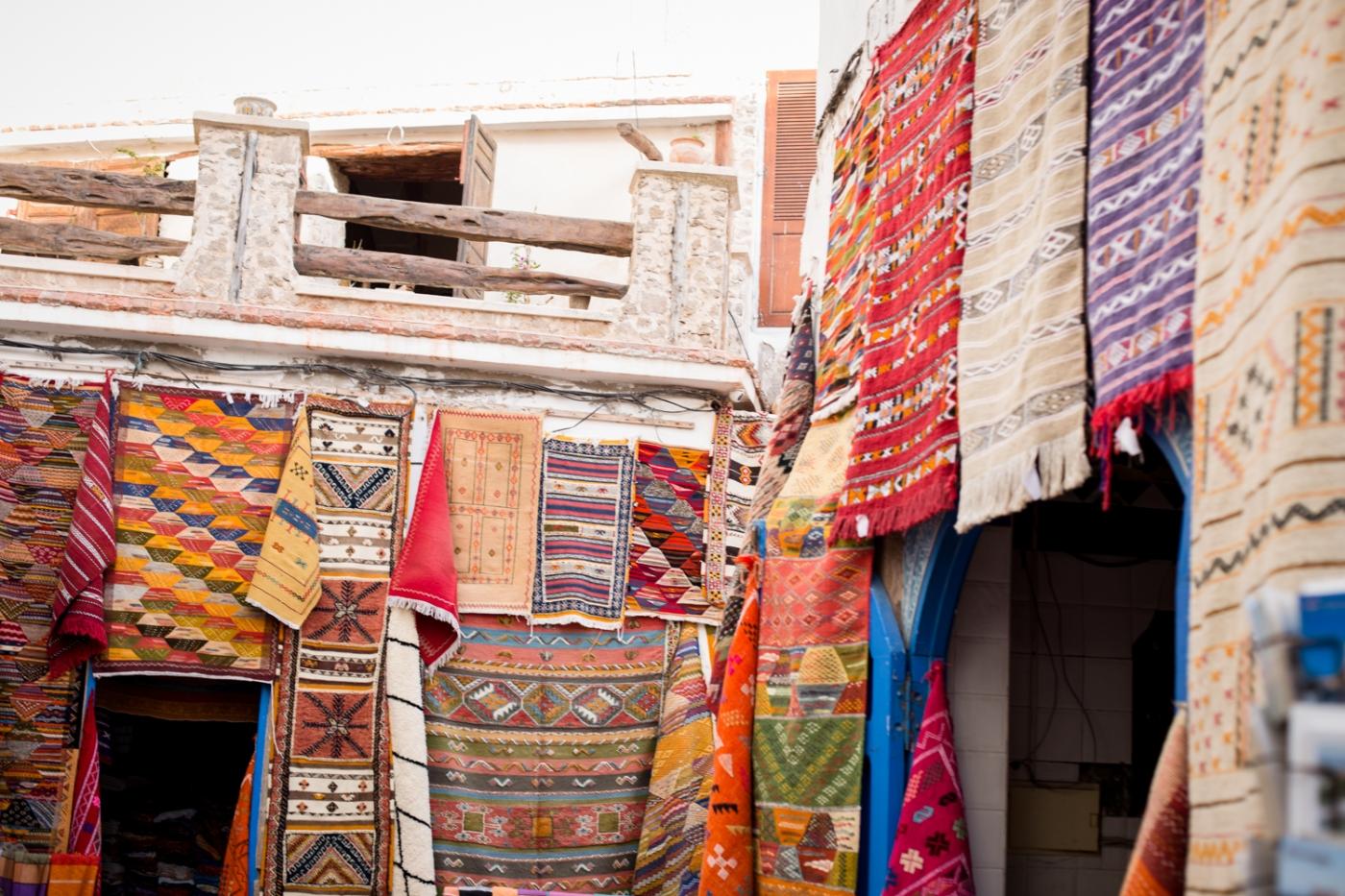 Essaouira - tapis