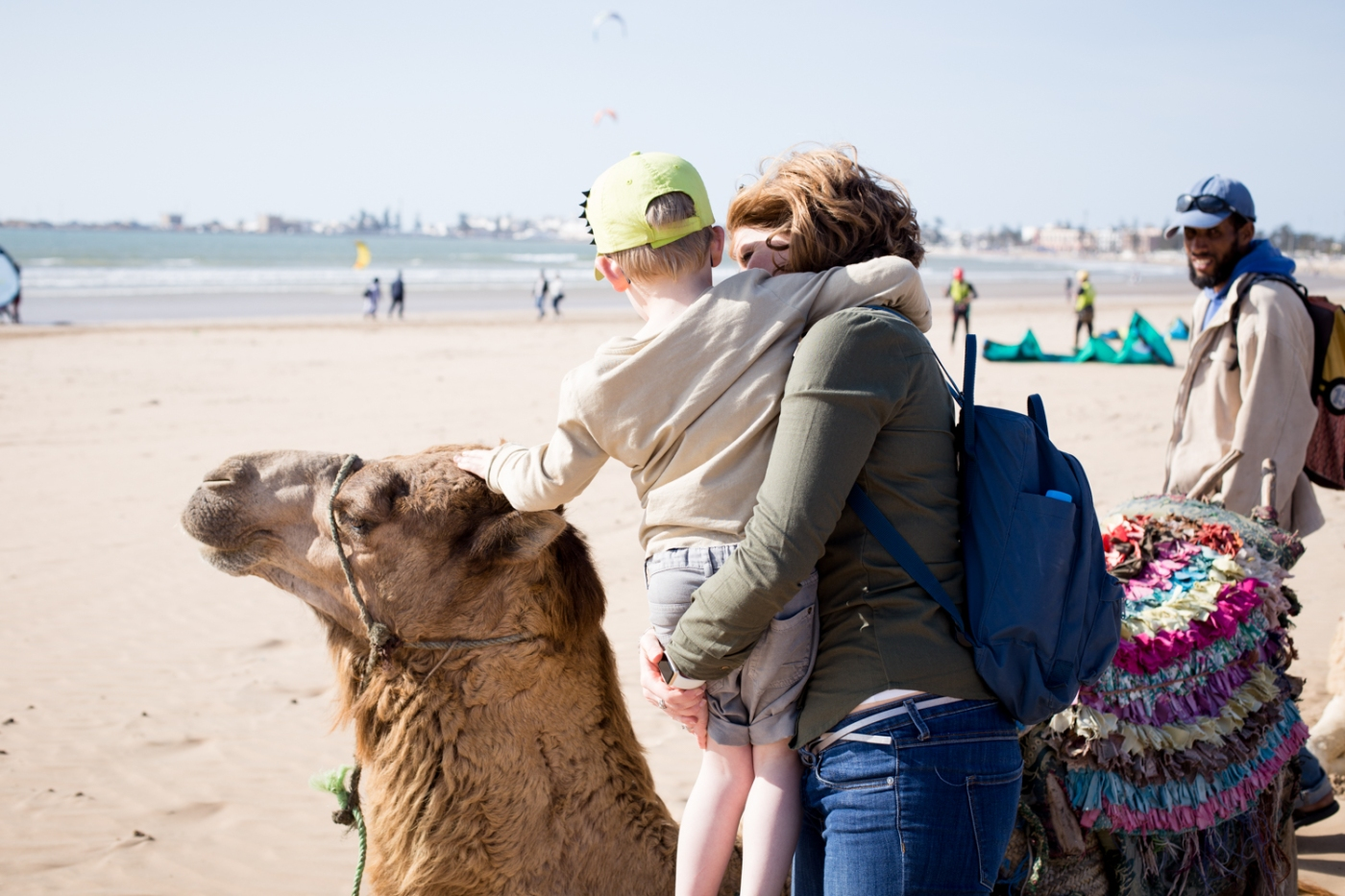 Essaouira kids friendly balade dromadaire