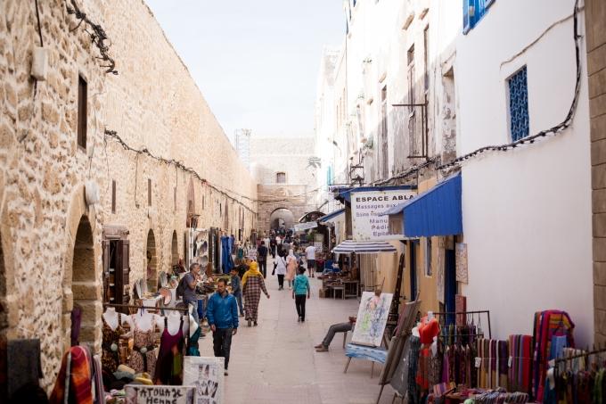 Essaouira - commerces Sqala